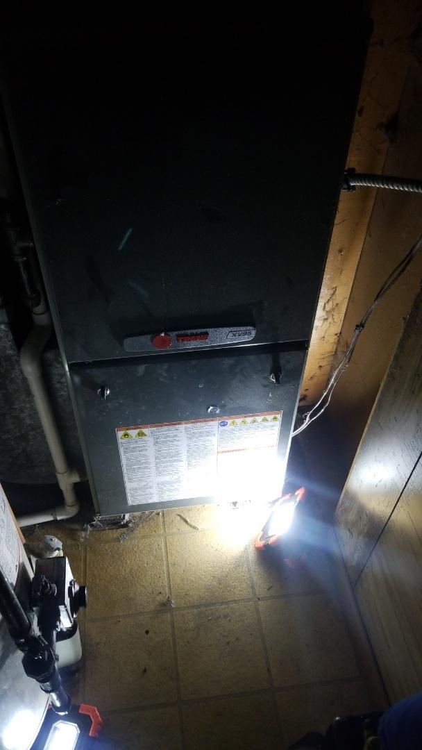 Crown Point, IN - Trane furnace repair