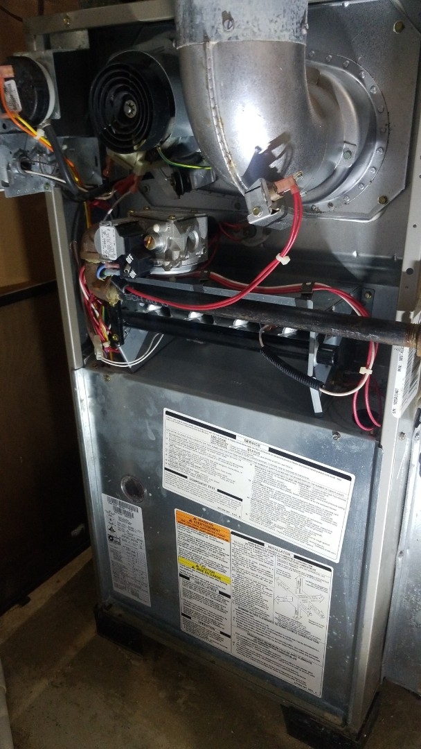 Crown Point, IN - Furnace inspection and cleaning on Carrier furnace
