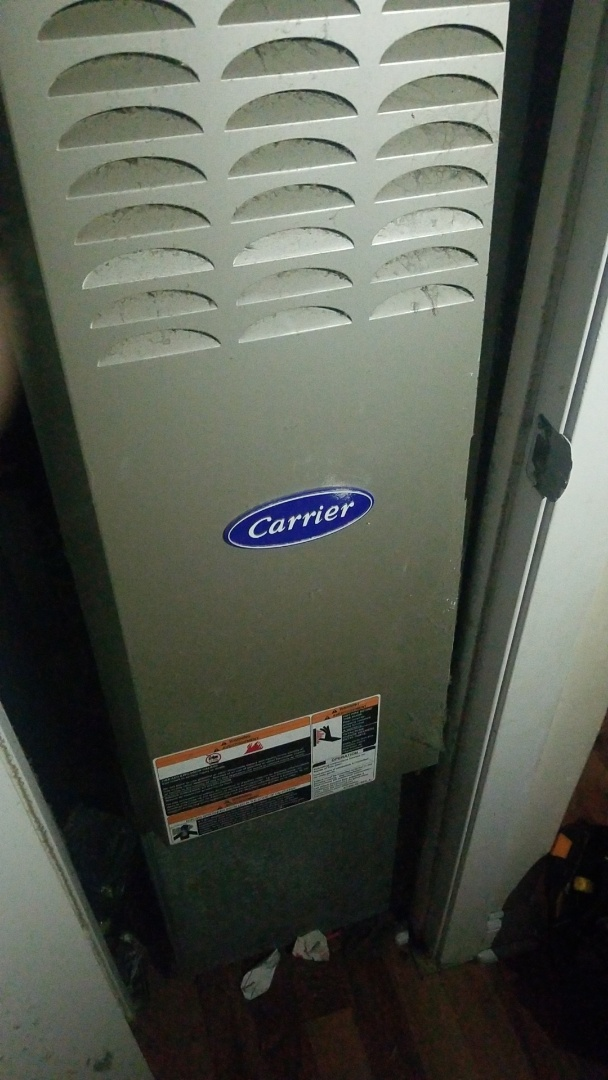 Richton Park, IL - Furnace repair on Carrier furnace