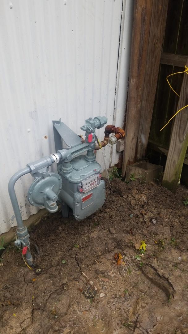 Richton Park, IL - Repair gas meter