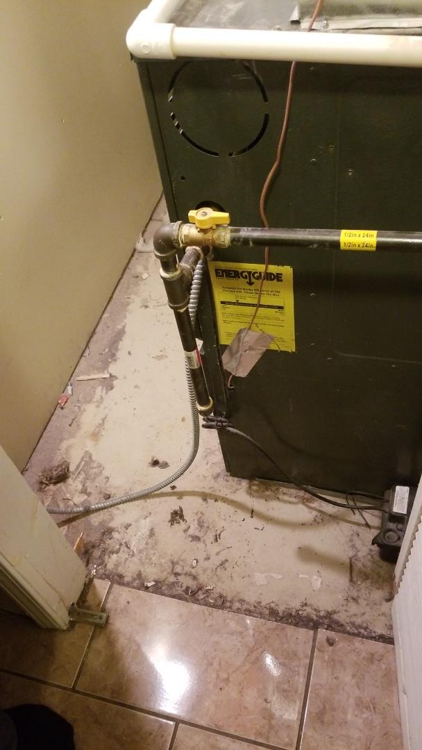 Merrillville, IN - Furnace repair on Goodman