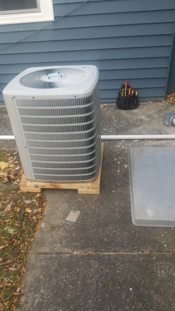 Homewood, IL - New airconditioning unit installation