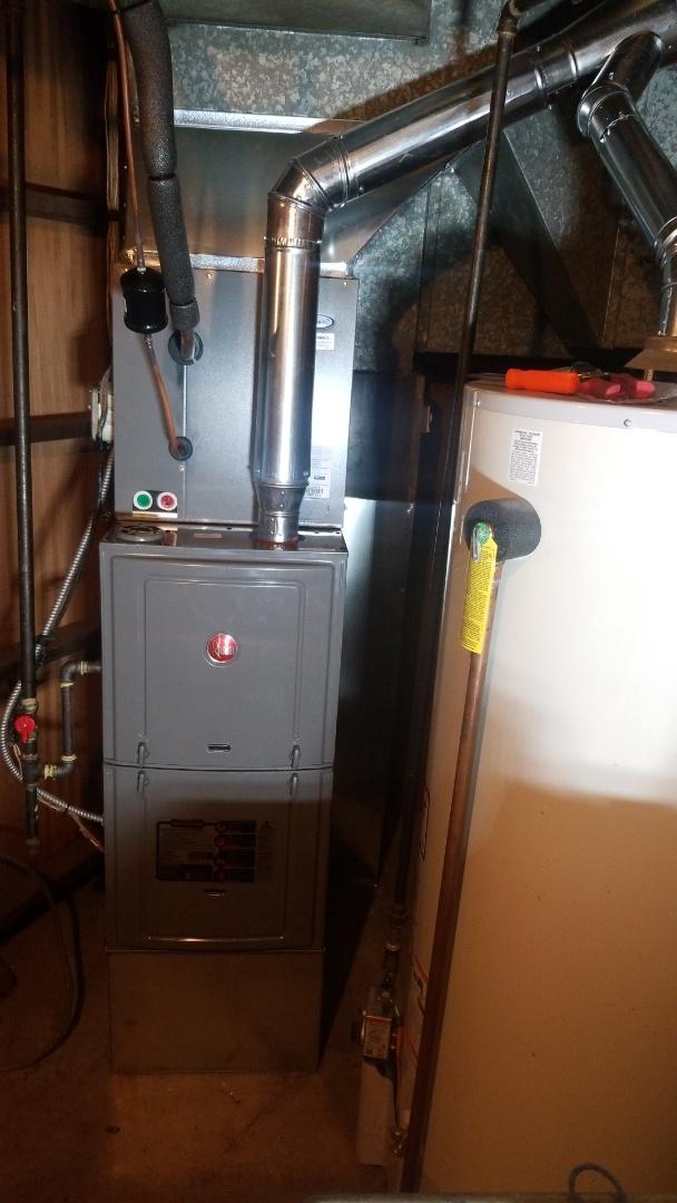 Merrillville, IN - New furnace installation
