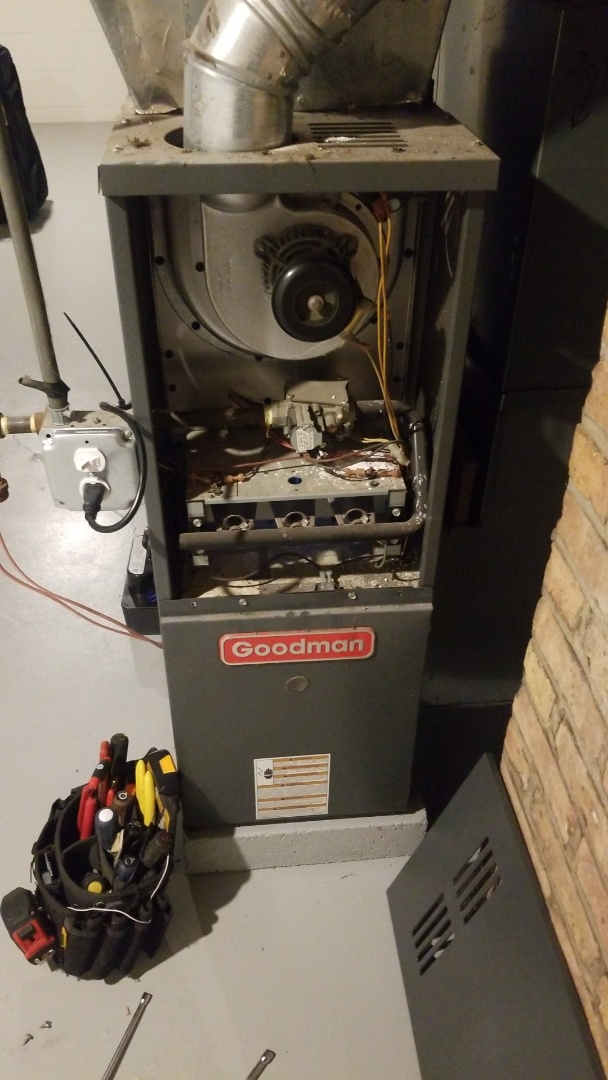 Hammond, IN - Furnace repair on Goodman furnace