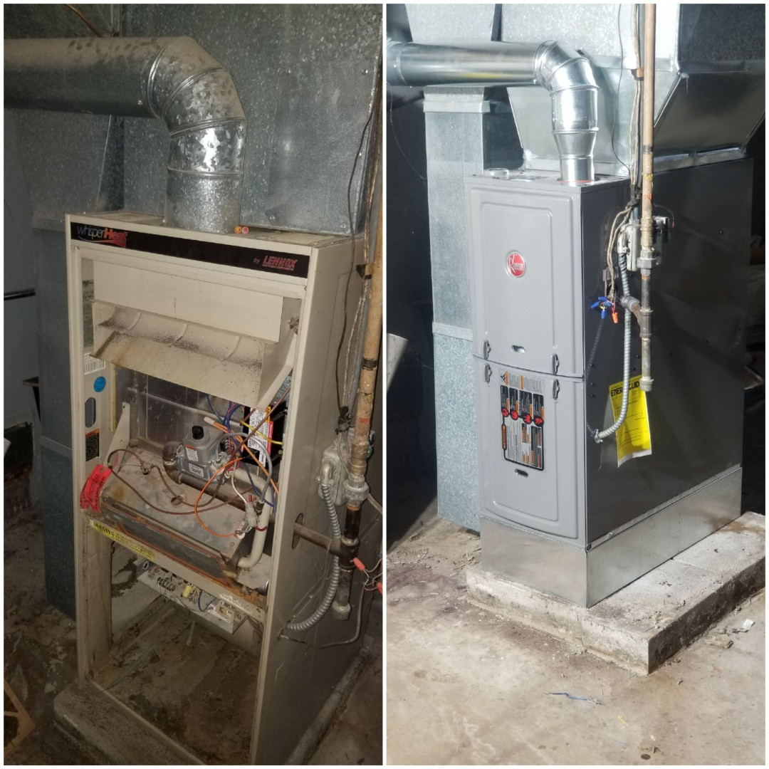 Chicago, IL - New furnace installation in Chicago