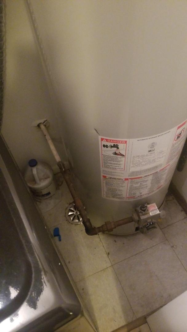 Chicago, IL - Gas pipe repair