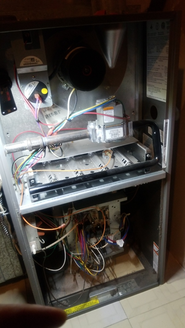 Lynwood, IL - Furnace repair . furnace cutting on and off