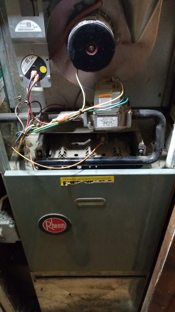 Lake Station, IN - Furnace overheating furnace repair