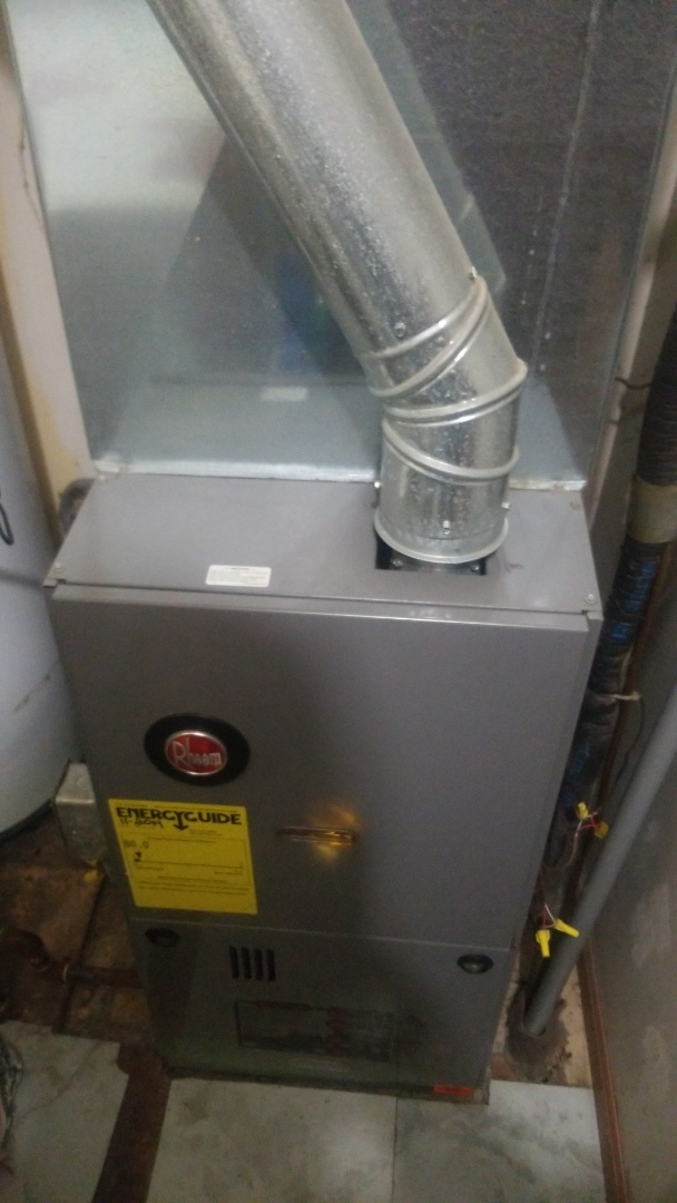 Highland, IN - Furnace repair on Rheem furnace