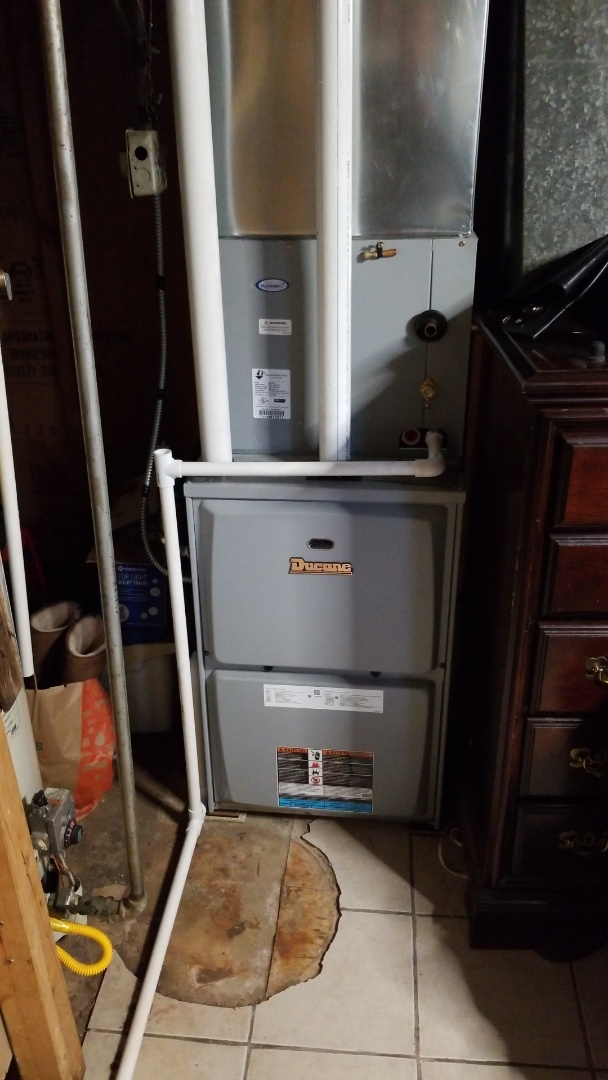 Gary, IN - New air conditioner installation