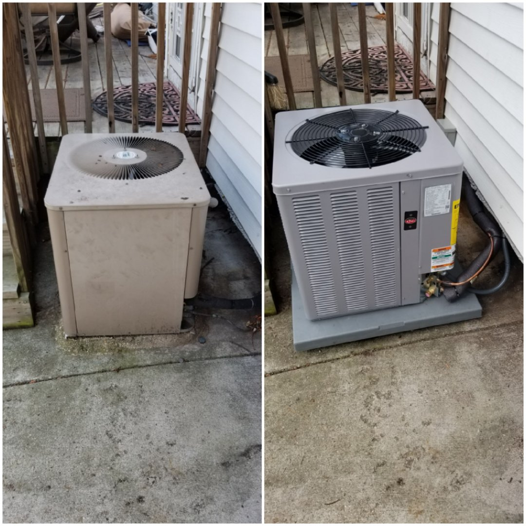 Gary, IN - Air conditioning replacement