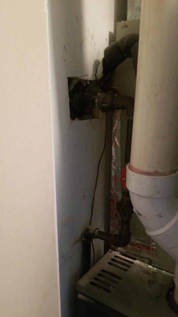 Richton Park, IL - Gas line repair