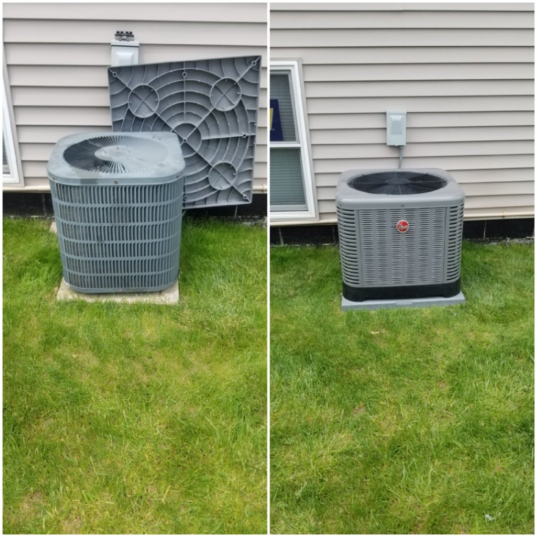 Munster, IN - New air-conditioning replacement