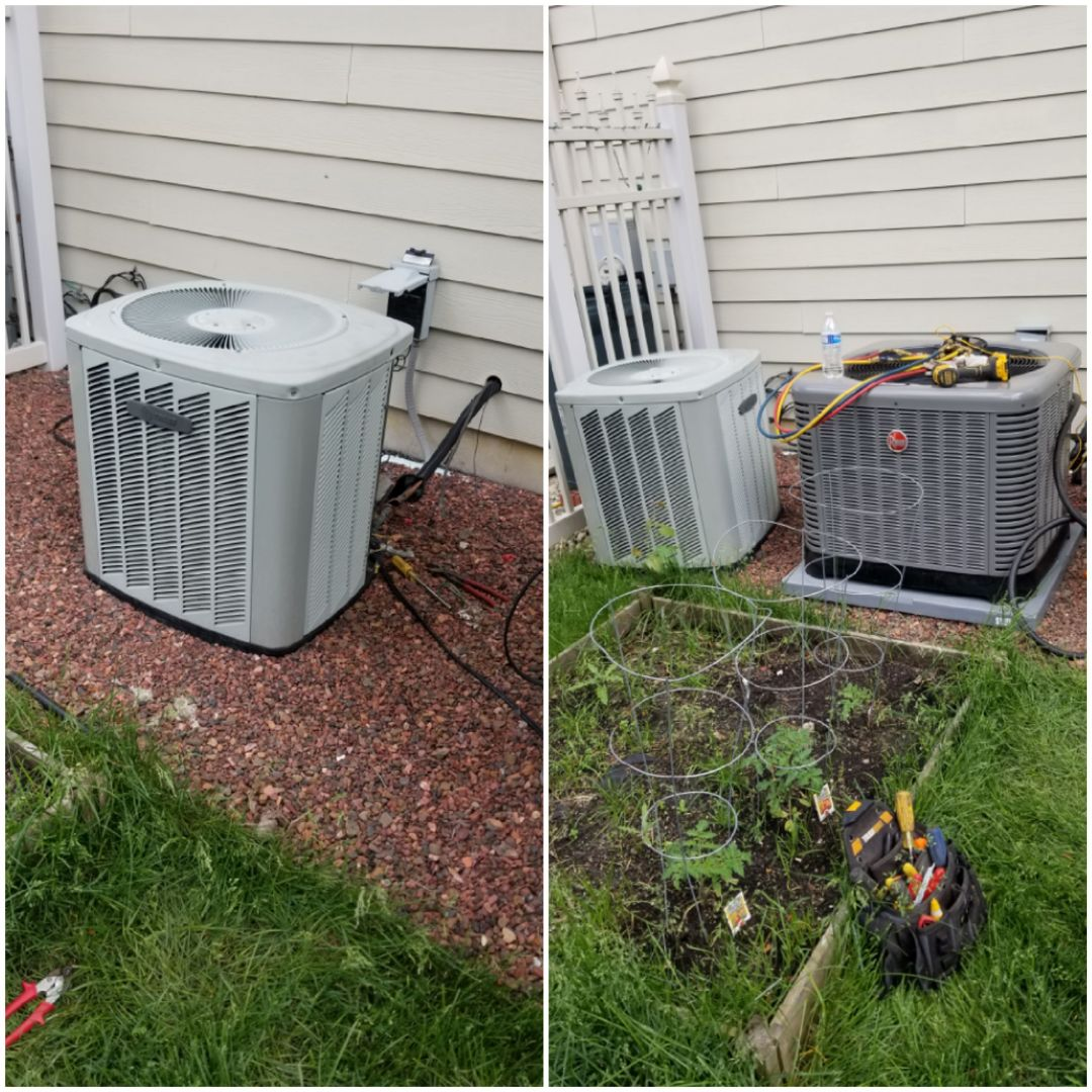 Munster, IN - New air-conditioning installation