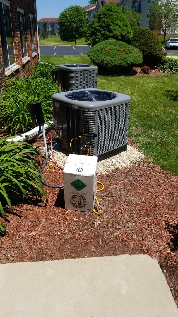 Crown Point, IN - New airconditioning install