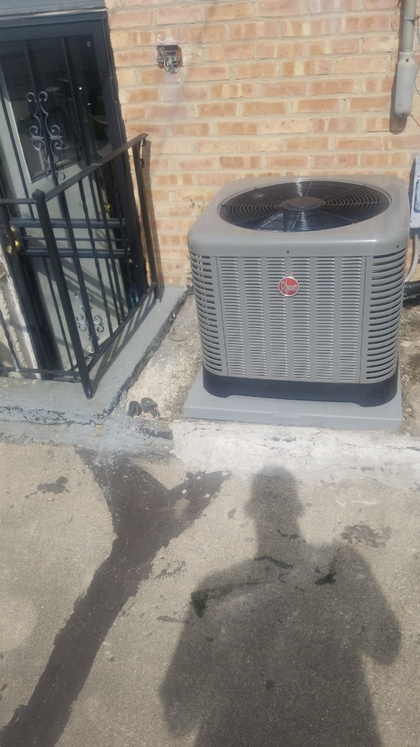 Dolton, IL - New airconditioning installation