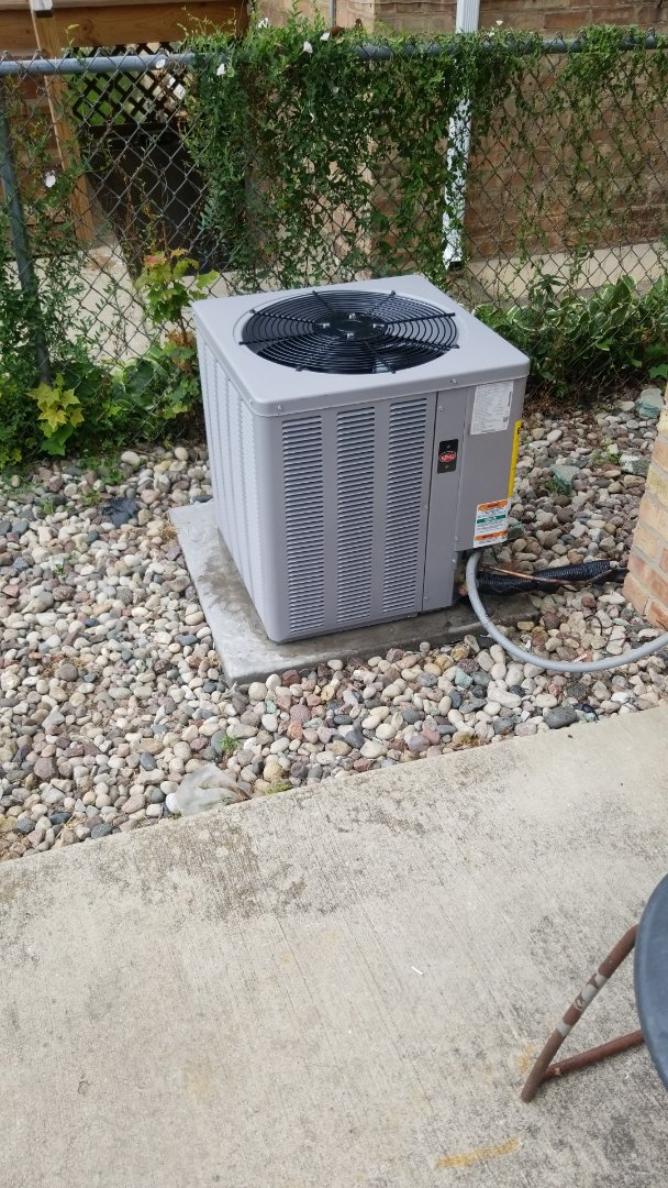 Chicago, IL - New airconditioning install