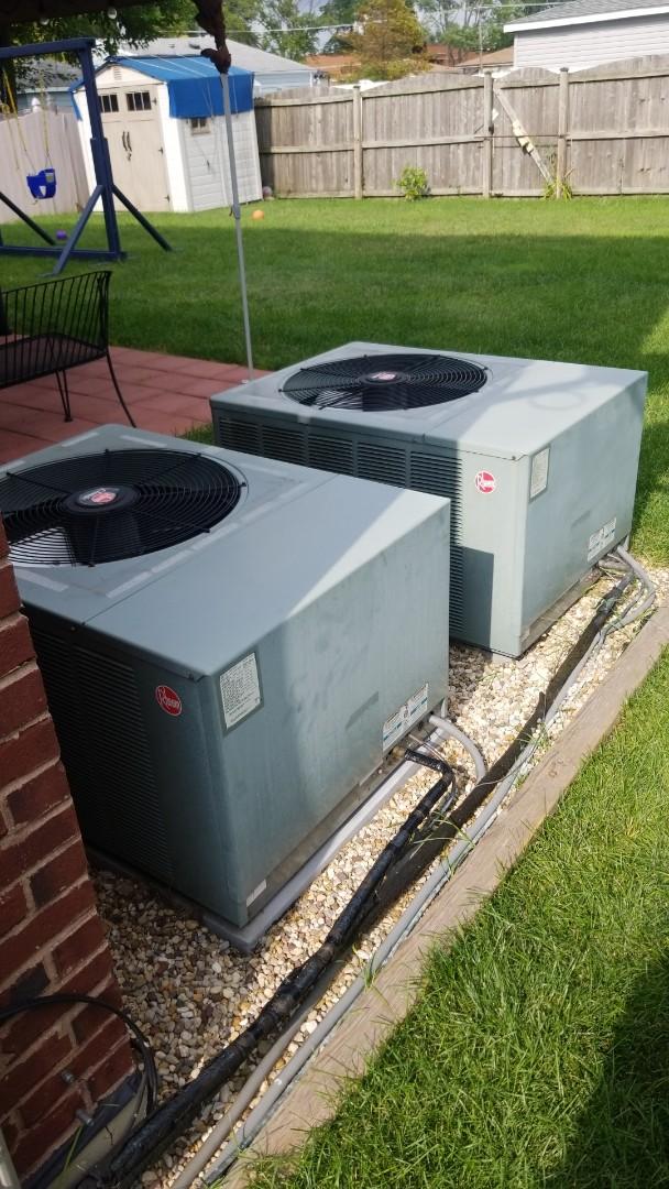 Oak Lawn, IL - New airconditioning estimate