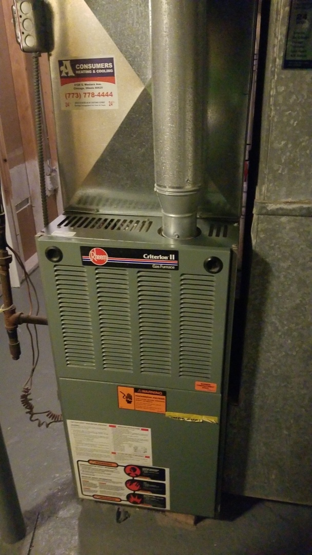 Merrillville, IN - Furnace inspection
