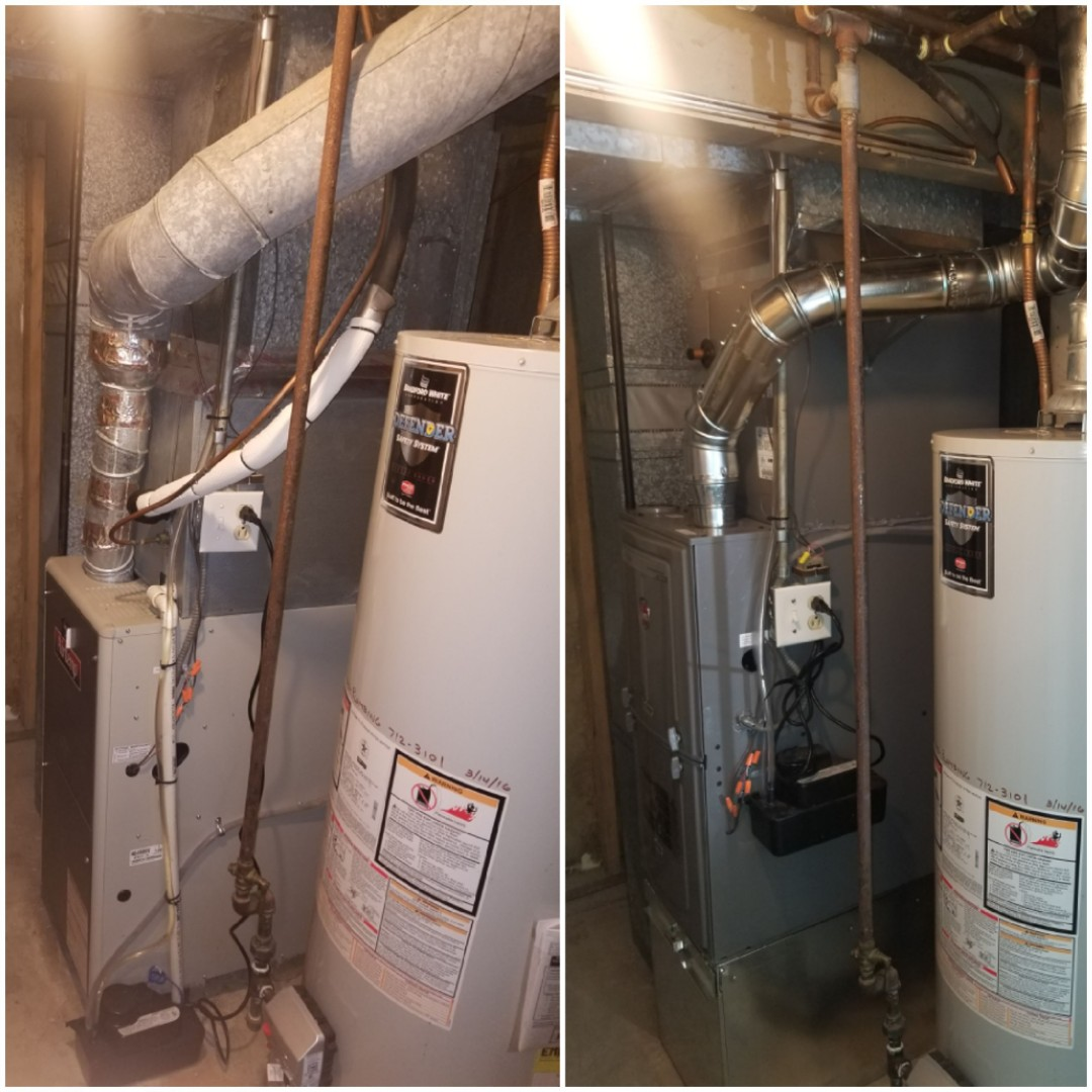 Crown Point, IN - Installation new furnace