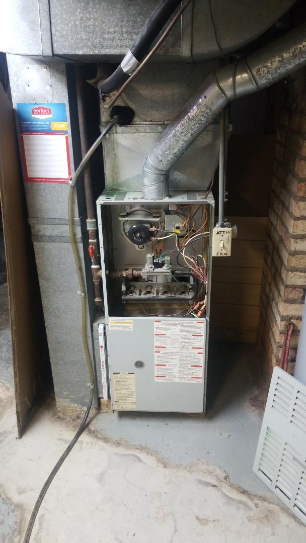 Lansing, IL - New furnace estimate