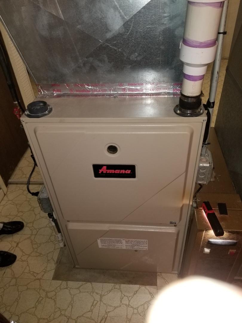 Crete, IL - New furnace estimate