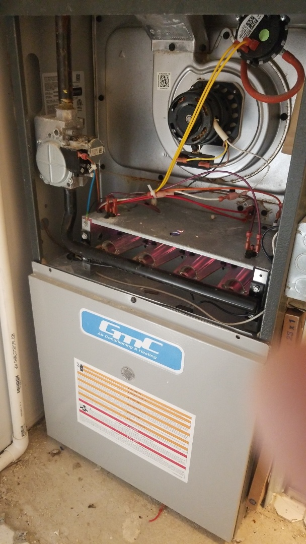 Homewood, IL - Furnace repair on Goodman furnace