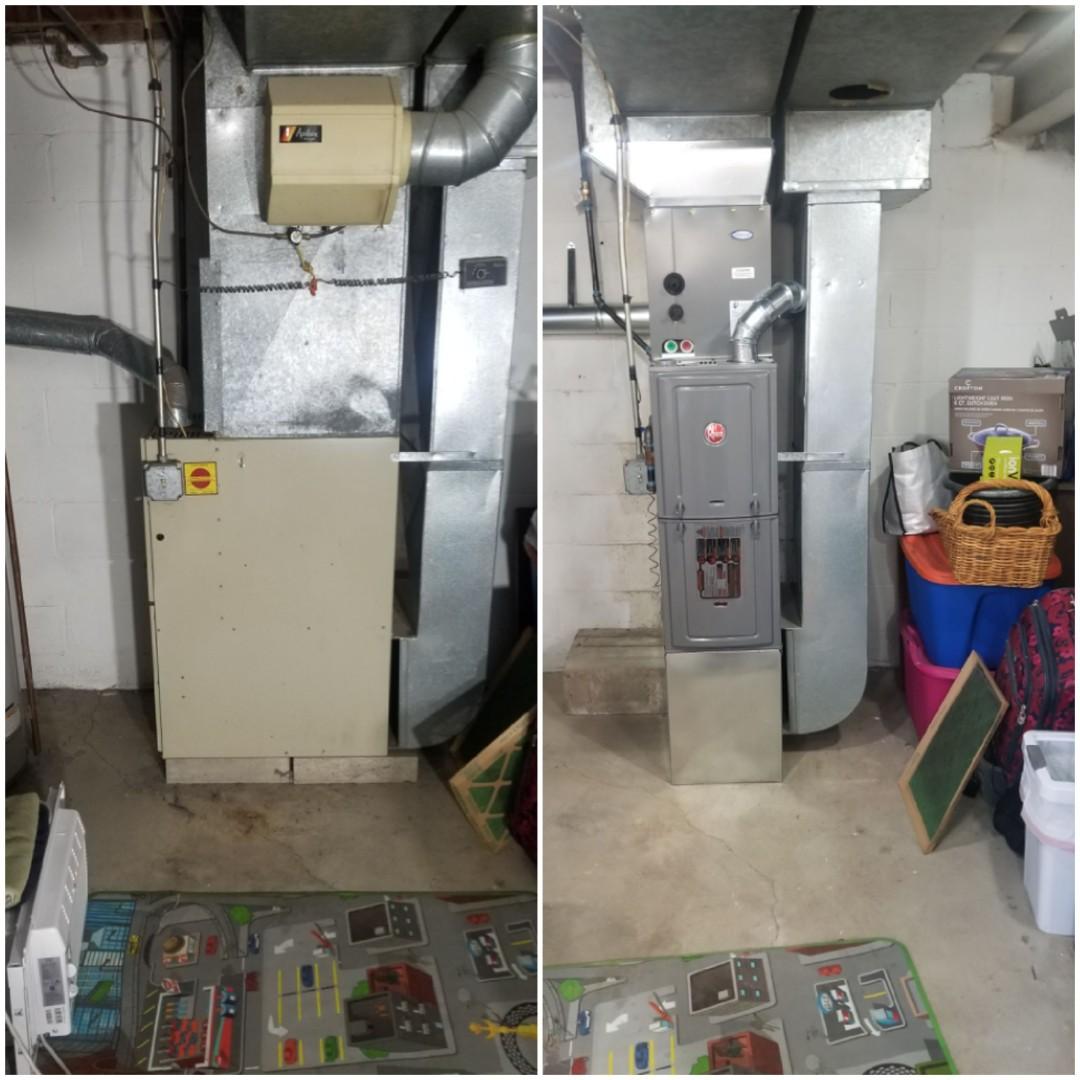 Munster, IN - New furnace estimate