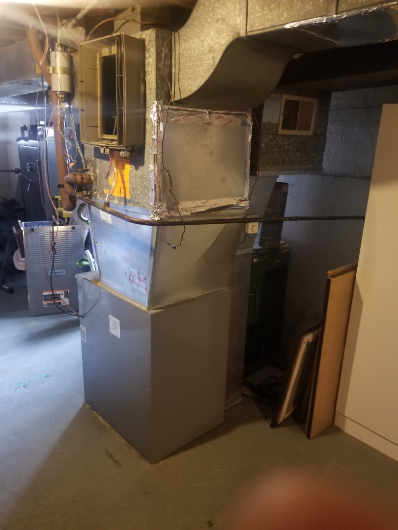 Calumet City, IL - New furnace installation