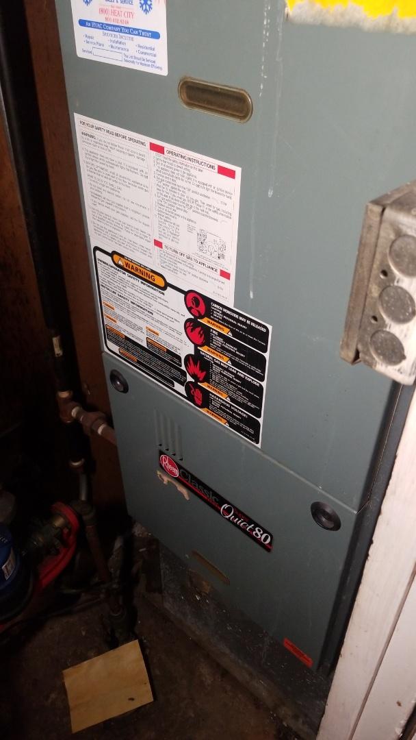 Gary, IN - Rheem furnace repair