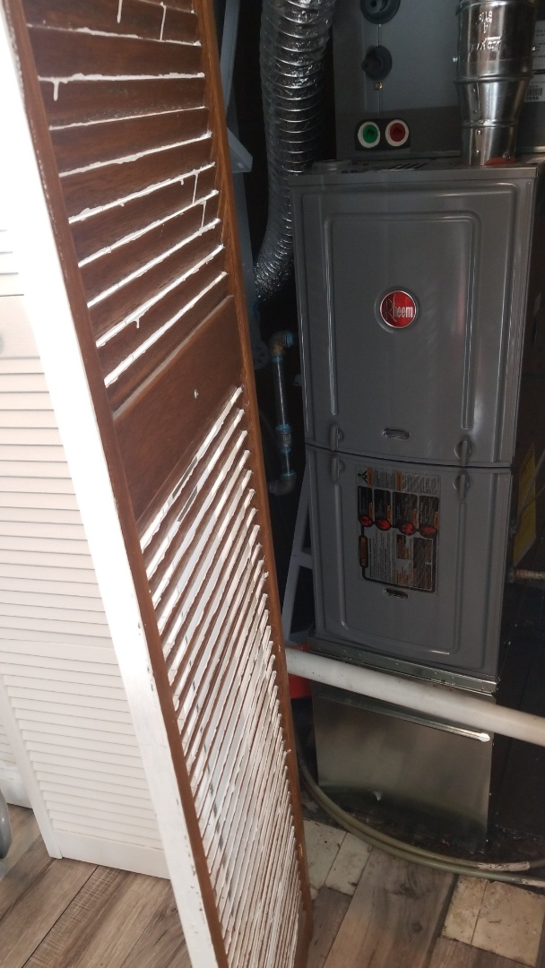Gary, IN - New furnace installation