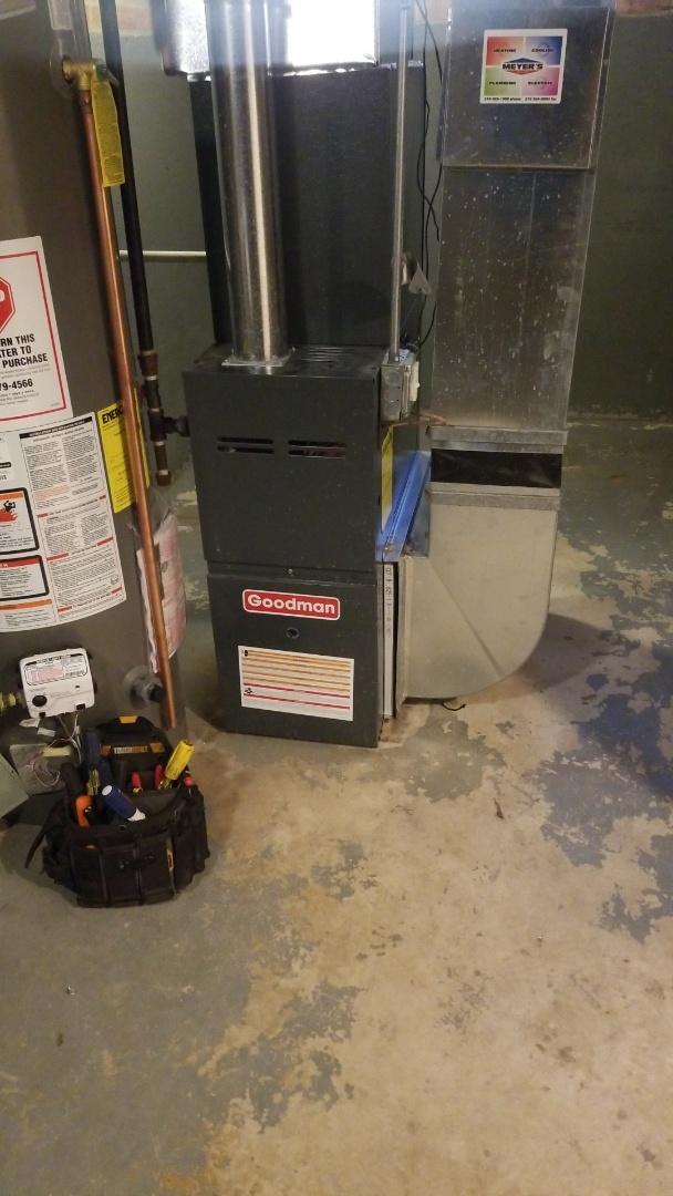 Dolton, IL - Goodman furnace repair