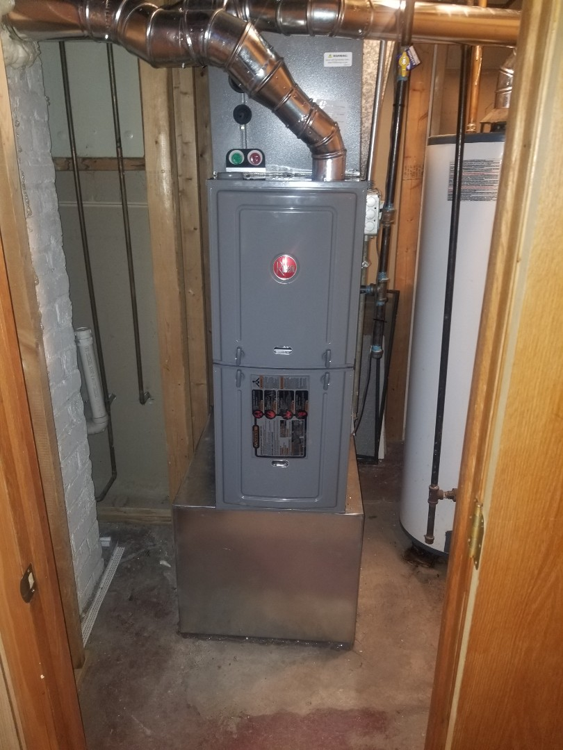Gary, IN - New furnace replacement