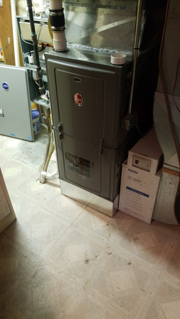 Merrillville, IN - New furnace installation