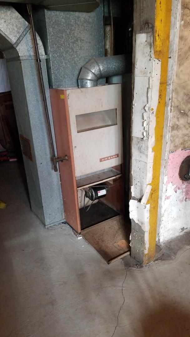 Gary, IN - New furnace installation