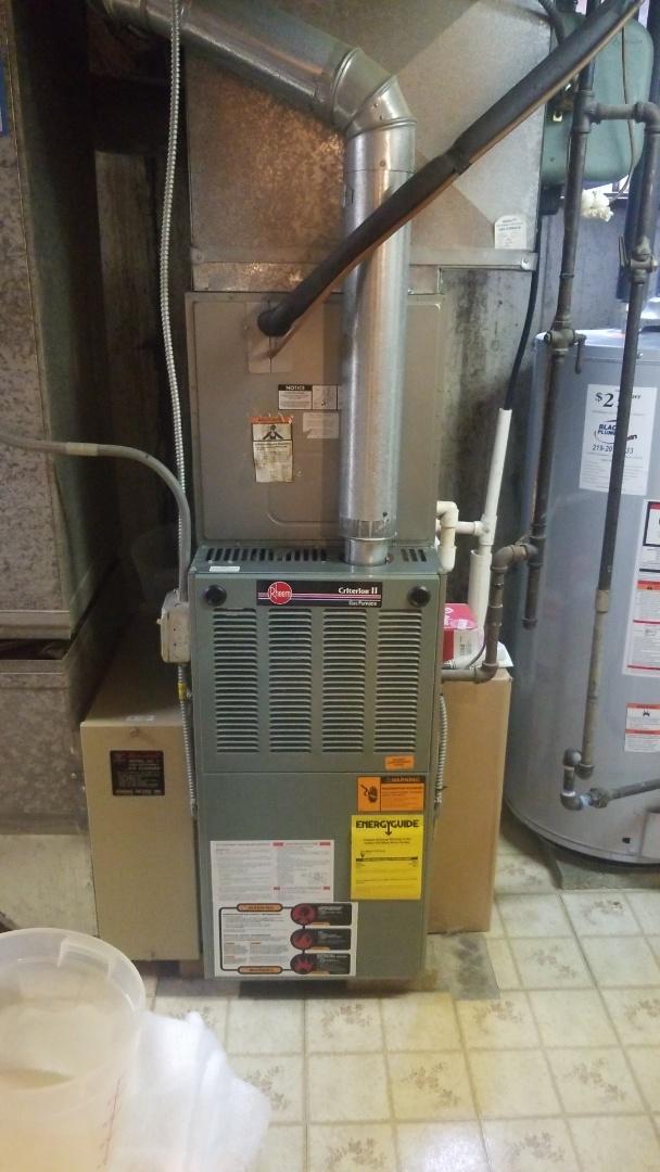 New furnace estimate