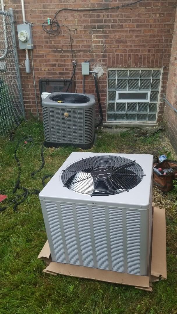 Installation airconditioning system