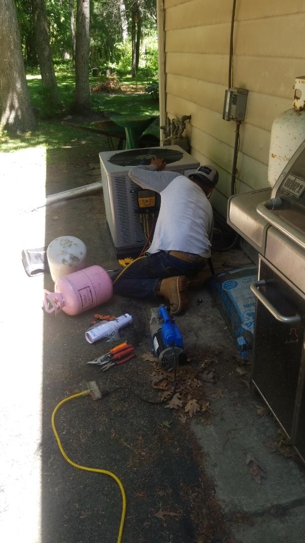New airconditioning installation