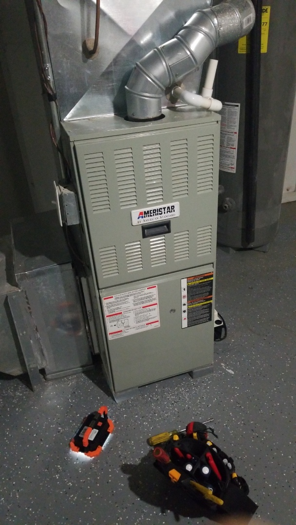 Merrillville, IN - Replace high limit switch on Ameristar gas furnace