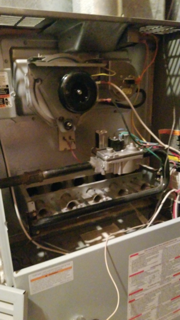 Richton Park, IL - Change draft inducer for carrier gas furnace