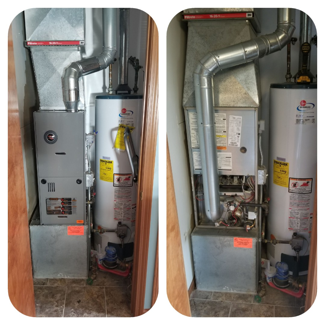 Hammond, IN - Repair furnace & replace furnace