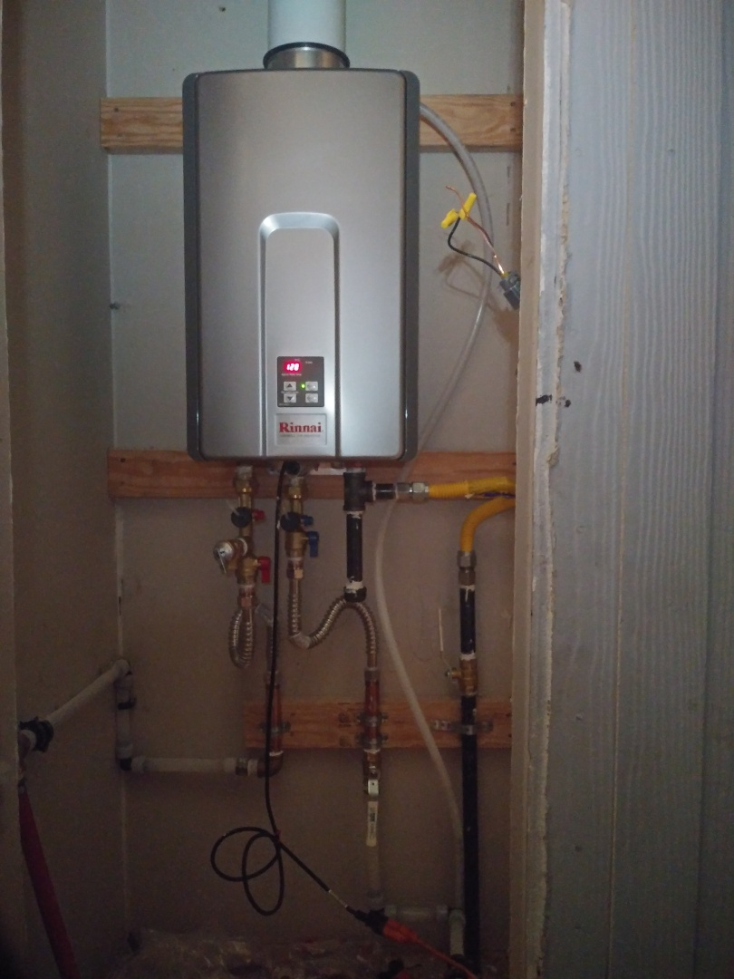 Modesto, CA - Tankless water heater installation
