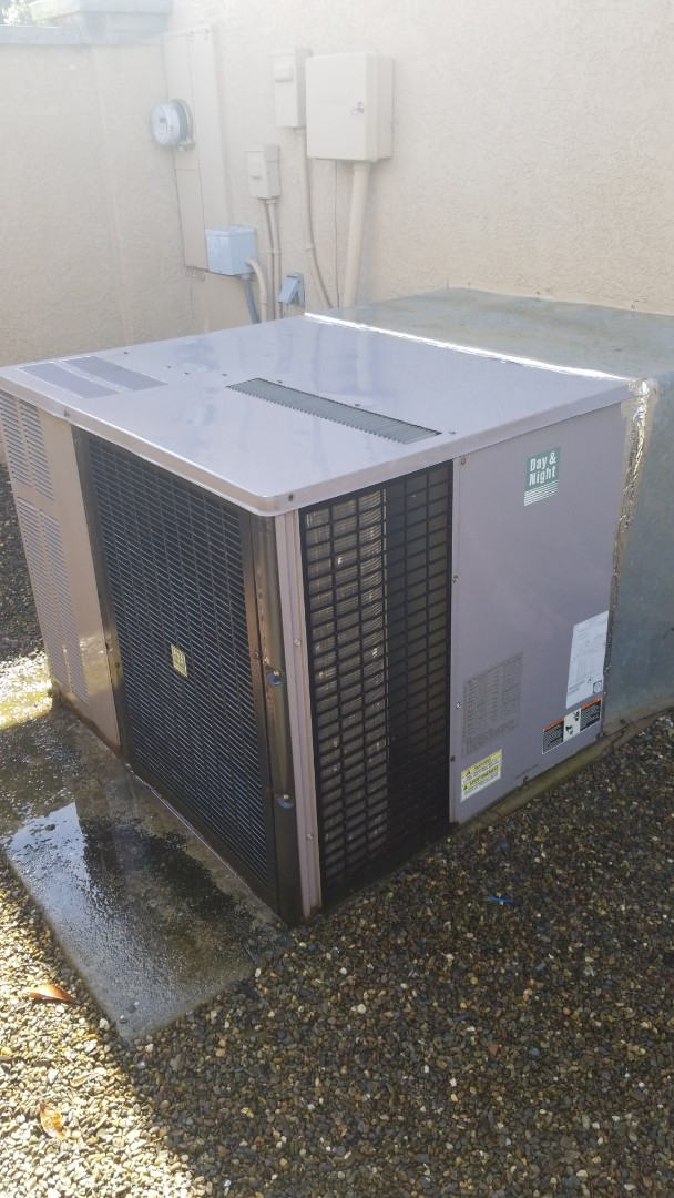 Denair, CA - Preventative maintenance on 1994 heatpump