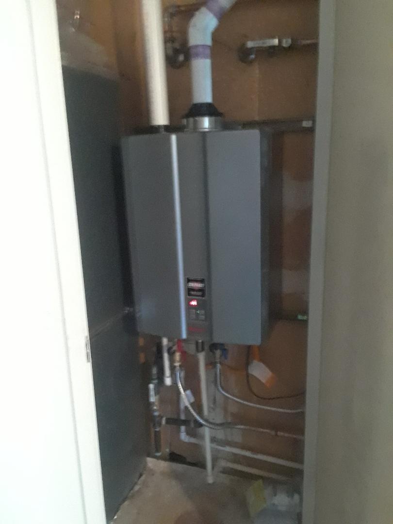 Modesto, CA - Tankless install