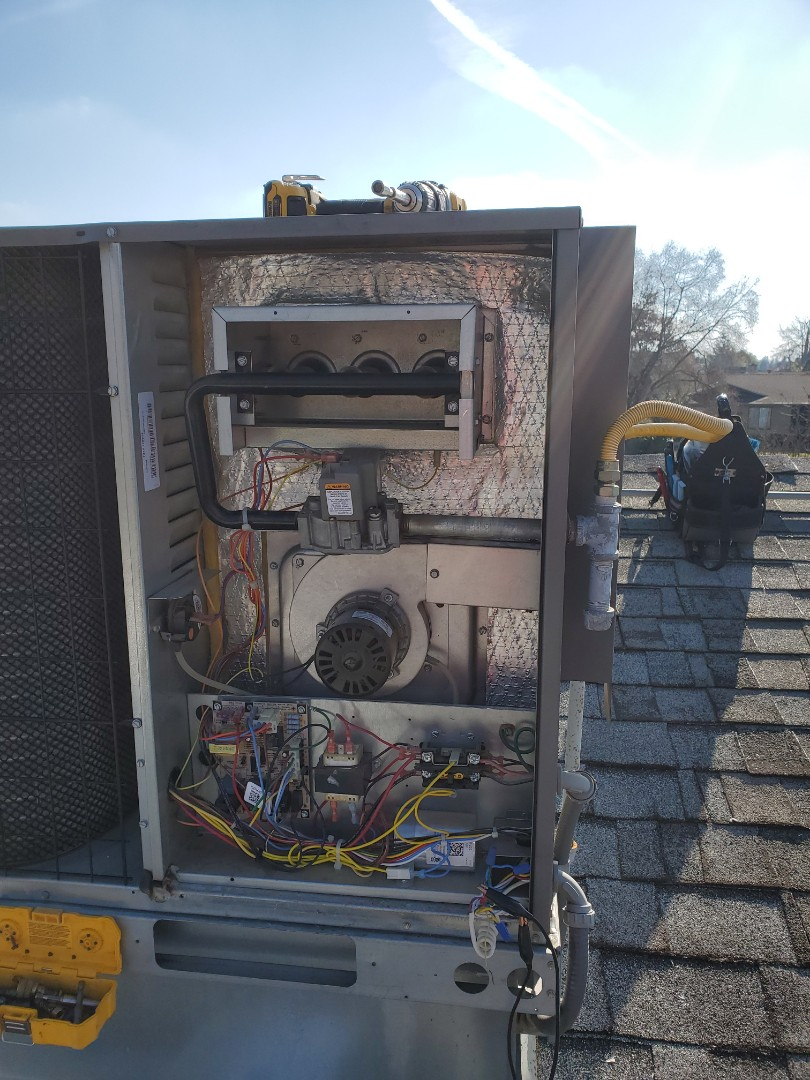 Oakdale, CA - heat exchanger replacement