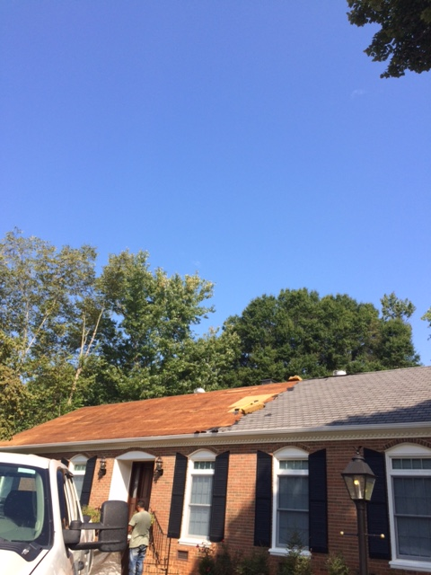 "Charlotte, NC - Providing Peace of Mind with a GAF ""Golden Pledge"" Warranty roof installation"