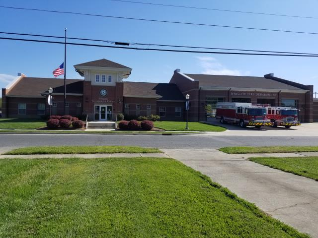 Wingate, NC - New Construction of the Government Center and Fire Station