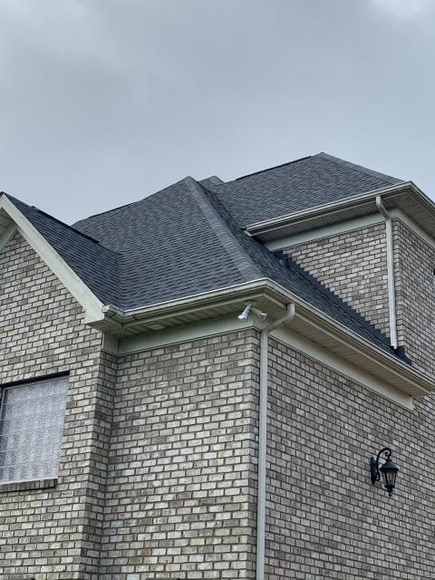 Waxhaw, NC - Roof Replacement using GAF HDZ Architectural Shingles in Pewter Gray