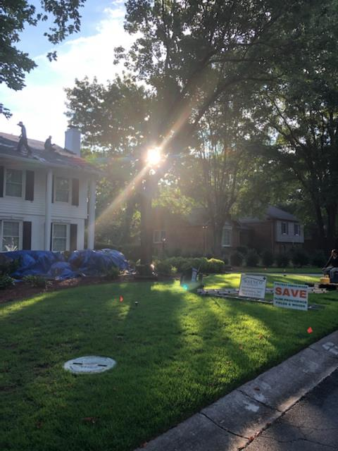 Charlotte, NC - Landscaping protected: Check Begin Tear Off