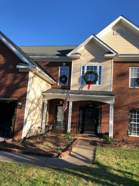 Indian Trail, NC - This home got a new GAF roof for Christmas